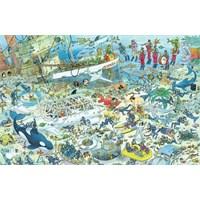Jumbo Deep Sea Fun - Jan Van Haasteren (1000 Parça)