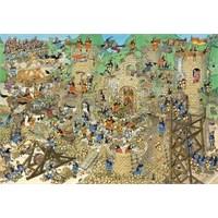 Jumbo Castle Conflict - Jan Van Haasteren (2000 Parça)