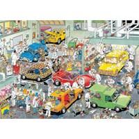 Jumbo Car Respraying Shop - Jan Van Haasteren (500 Parça)