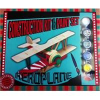 Professor Puzzle Construction Kit And Paint Set - Aeroplane