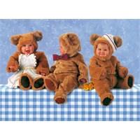 Schmidt Puzzle Teddybaren-Trio (1000 Parça)