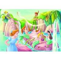 Lischiani Giochi Peter Pan Süpermaxi Puzzle (12 Parça)