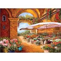 Art Puzzle Il Mercato Sotto Il Portici (1000 Parça)