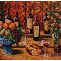 Art Puzzle Meyve, Ekmek ve Şarap (1000 Parça)