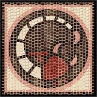 Domenech Mozaik Burçlar Serisi - Akrep