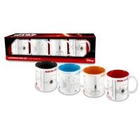 Sd Toys Star Wars: Blueprints Mini Espresso Shot Set Of 4