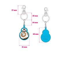 Sd Toys Star Wars Bb-8 Ep7 Metal Keychain Anahtarlık