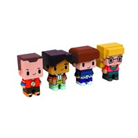 Sd Toys The Big Bang Theory: Pixel Set Of Four 002