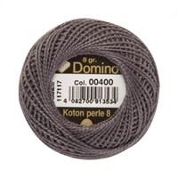 Coats Domino 8Gr Gri No: 8 Nakış İpliği - 00400