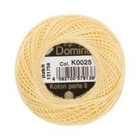 Coats Domino 8Gr Sarı No: 8 Nakış İpliği - K0025