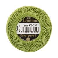 Coats Domino 8Gr Yeşil No: 8 Nakış İpliği - K0027