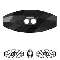 Swarovski 1 Adet Siyah Çoban Düğme - 3024
