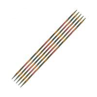 Knitpro Symfonie 3,5 Mm 20 Cm Ahşap 5'Li Çorap Şişi - 20107