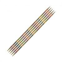 Knitpro Symfonie 4 Mm 20 Cm Ahşap 5'Li Çorap Şişi