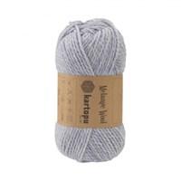 Kartopu Melange Wool Mavi El Örgü İpi - K632