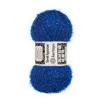 Kartopu Simli Kristal Mavi El Örgü İpi - K530