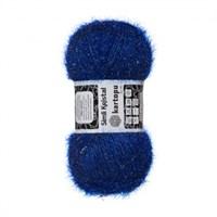 Kartopu Simli Kristal Mavi El Örgü İpi - K627