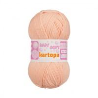 Kartopu Baby Soft Pembe Bebek Yünü - K220