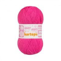 Kartopu Baby Soft Fuşya Bebek Yünü - K245