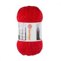 Kartopu Princess Kırmızı El Örgü İpi -K150