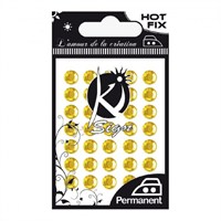 Ki-Sign Altın Ütüyle Yapışan Taşlar - C-Strass-6Gold