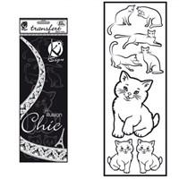 Ki-Sign Kadife Dokulu Kedi Ütüyle Yapışan Desen Kağıdı - Ksfd-30