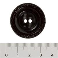 Hobium Maxi Boy Siyah Fantezi Düğme