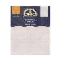 Dmc 35X45 Cm 6 Ct Parça Etamin Kumaşı – Dc07-Blanc