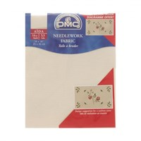 Dmc 35X45 Cm 14 Ct Parça Etamin Kumaşı – Dc27-Ecru