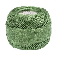 Diva Line Old Ewe Lurex Yeşil Kroşe İpliği - 699
