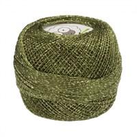 Diva Line Old Ewe Fine Lurex Yeşil Kroşe İpliği - 116