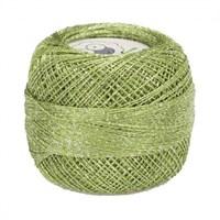 Diva Line Old Ewe Fine Lurex Yeşil Kroşe İpliği - 3348