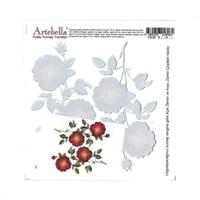 Artebella 16,5 X 17,5 Cm Boyutunda Koyu Zemin İçin Kolay Kumaş Transfer Kağıdı - 1808K