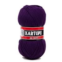 Kartopu Ak-Soft Koyu Mor El Örgü İpi - K725