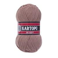 Kartopu Ak-Soft Lavanta Rengi El Örgü İpi - K885