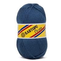 Kartopu Flora Koyu Mavi El Örgü İpi - K650