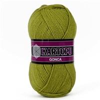 Kartopu Gonca Yeşil El Örgü İpi - K442