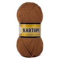 Kartopu Resital Kahverengi El Örgü İpi - K882