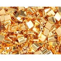 Miyuki Tila Bead 5X5 Mm 50 Gr. Opak Altın Rengi Boncuk - 690Tl00-0191
