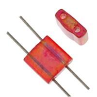 Miyuki Tila Bead 5X5 Mm 50 Gr. Şeffaf Kırmızı Boncuk - 690Tl00-0254