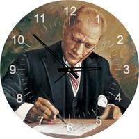 Art Puzzle Atatürk Çankaya Köşkü'nde Çalışırken (570 Parça,Saat Puzzle)
