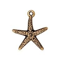 Tierra Cast 1 Adet 20X18.5 Mm Altın Rengi Deniz Yıldızı Takı Aksesuarı - 94-2232-26