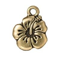 Tierra Cast 1 Adet 17.75X14.25 Mm Altın Rengi Amber Çiçeği Takı Aksesuarı - 94-2307-26