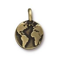 Tierra Cast 1 Adet 16.6X11.6 Mm Altın Rengi Dünya Takı Aksesuarı - 94-2408-27