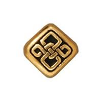 Tierra Cast Metal 1 Adet 8X7.25 Mm Altın Rengi Çiçeks Şekilli Boncuk - 94-5528-26