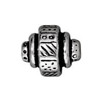 Tierra Cast Metal 1 Adet 7.25X9 Mm Gümüş Rengi Etnik Boncuk - 94-5529-12