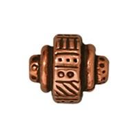 Tierra Cast Metal 1 Adet 7.25X9 Mm Bakır Rengi Etnik Boncuk - 94-5529-18