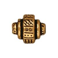 Tierra Cast Metal 1 Adet 7.25X9 Mm Altın Rengi Etnik Boncuk - 94-5529-26