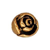 Tierra Cast Metal 1 Adet 7.75X6.75 Mm Altın Rengi Gül Aksesuar Boncuk - 94-5611-26