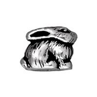 Tierra Cast Metal 1 Adet 7.5X9 Mm Gümüş Rengi Tavşan Boncuk - 94-5620-12